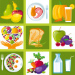 Healthy_food_icons — Stock Vector #13424954