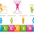 Success_icons - Stock Vector