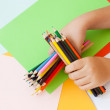 color pencils — Stock Photo #13378646