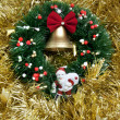Christmas wreath — Stock Photo #14608117