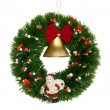 Christmas wreath — Stock Photo #14608183