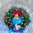 Christmas wreath — Stockfoto #14608187