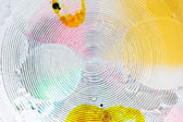 Liquid circles background — Stock Photo