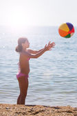 Playing with Ball — Stock Photo