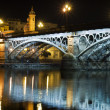 Bridge  at night - Foto de Stock