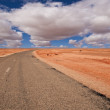 Stock Photo: Road in desert