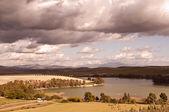 Jezioro i niebo — Zdjęcie stockowe