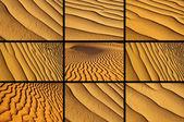 Variety of sand — Stock Photo