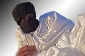 Tuareg nomad — Stock Photo
