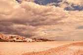 Wybrzeże i wieś — Zdjęcie stockowe
