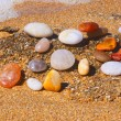 Stock Photo: Stones on beach