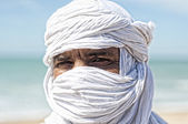 Tuareg portrait — Stock Photo