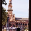 Spain square,seville — Stock Photo
