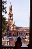 Spain square,seville — Zdjęcie stockowe