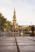 Spain square,seville — Stock Photo