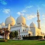 Sheikh zayed mosque, abu dhabi, uae, middle east — Stock Photo #13371926
