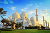Шейх Зайед мечеть, Абу-Даби, ОАЭ, Ближний Восток — Стоковое фото