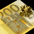 Banknote of 200 euro — Stock Photo