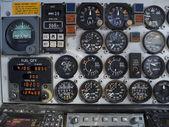 частности старый самолет — Стоковое фото