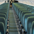Постер, плакат: Aircraft seating view