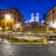 Piazza di Spagna — Stock Photo #38344413