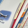 Airplane operations manual — Stock Photo #39363443