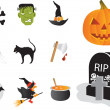 Halloween Web buttons — Stock Vector #29467059