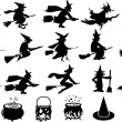 Halloween elements — Stock Vector #30783907