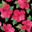 Seamless floral pattern , hand-drawing. — стоковый вектор #19899063