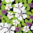 Floral seamless pattern  hand-drawing. - ベクター素材ストック