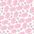 Seamless pattern  for design with spring flowers - ベクター素材ストック