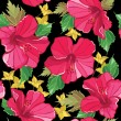 Floral seamless pattern with flowers - ベクター素材ストック