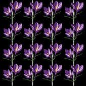 Bahar çiçekleri ile tasarım için seamless modeli — Stok Vektör