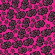 Seamless pattern  for design with spring flowers - Векторная иллюстрация