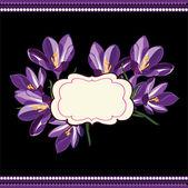 красивый цветочный узор.весна фон — Cтоковый вектор
