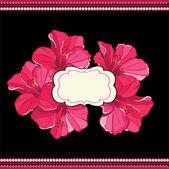 美しい花の pattern.spring の背景 — ストックベクタ