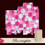 Gift box template. — Stock Vector