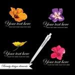 Set of symbols for logo designing — Stock Vector #25364883