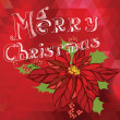 Stock Photo: Poster Merry Christmas.Typography.Vector illustration.