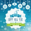 Poster Merry Christmas.Typography.Vector illustration. — Stock Photo #32477521