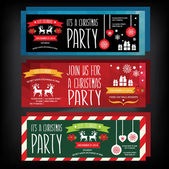 Invitation Merry Christmas.Typography.Vector illustration. — Stock Vector