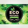 Icon design, organic and nature. — Vector de stock #36224517
