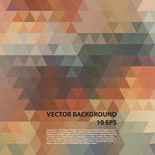 Fondo pattern.vector colorido geométrico. — Vector de stock
