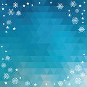 Illustrazione di sfondo allegro christmas.typography.vector. — Vettoriale Stock