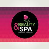 ícone de design, spa e beleza. — Vetorial Stock