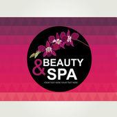 Icon design, spa and beauty. — Stok Vektör