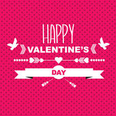 Valentine's Day poster — Stockvector