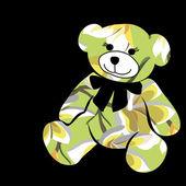 Cartoon bear. — 图库矢量图片