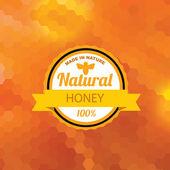 Honey banner — Stock Vector