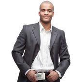 Black businessman — Stock Photo